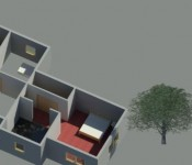 Revit-3D example -After Rendering